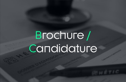Brochure / Candidature