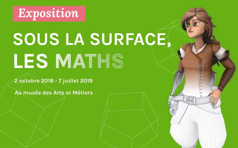 Sous la surface, les maths