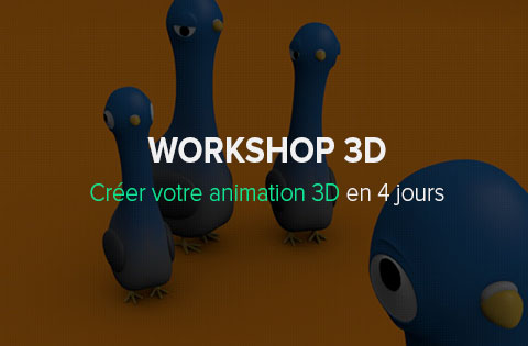 Workshop Animation 3D