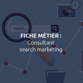 Les métiers du web marketing
