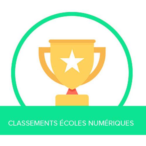 Classements des meilleures écoles numériques
