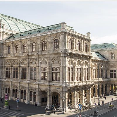 vienna building fancy