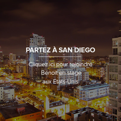 Comment faire son stage à San Diego Californie ?
