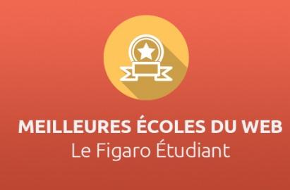 Meilleures écoles du web par Le Figaro Étudiant