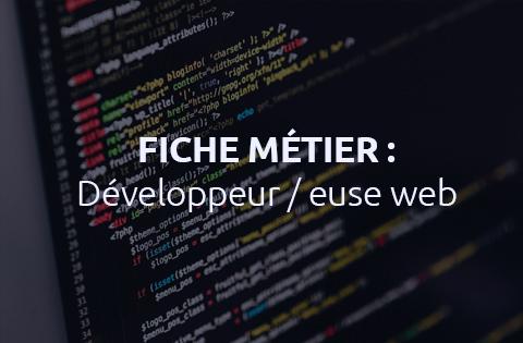 Les métiers du web : comment devenir développeur web ?