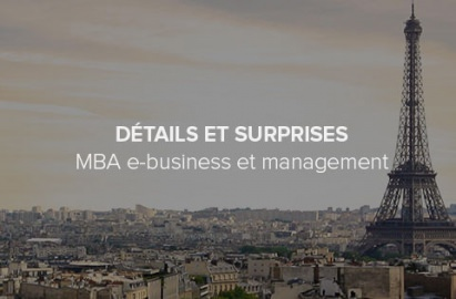 Détails et ambitions du MBA e-business management