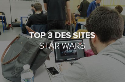 Top 3 des sites web Star Wars