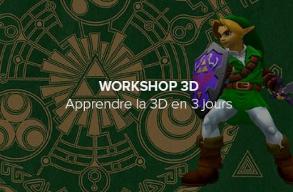 Workshop 3D, Zelda Ocarina of Time