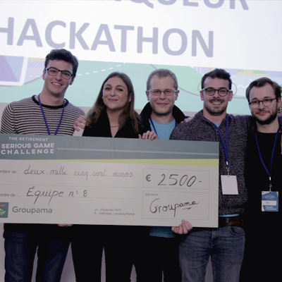 Hackaton Groupama The retirement seriouse game challenge 2017