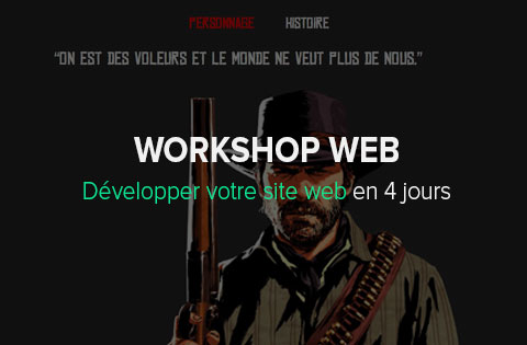 Workshop web | HETIC, école web
