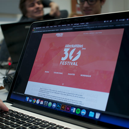 site web event Inrock  Festival